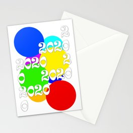 Gen X 2020 Dots Collection Stationery Cards
