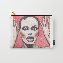 """Alyssa Edwards; """"She was the one backstabbing me behind my back!"""" Carry-All Pouch"""