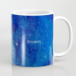 Constellation Aquarius Coffee Mug