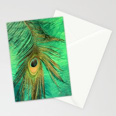 Eye Of A Peacock Stationery Cards