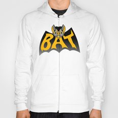 bat in a batshape Hoody