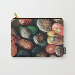 Rock art in ceramic bowl Carry-All Pouch