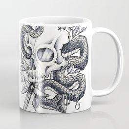 Snake Skull Coffee Mug