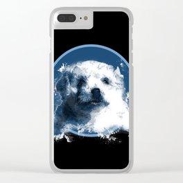 Definitely A Polar Bear Clear iPhone Case