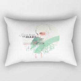 FASHION ILLUSTRATION 16 Rectangular Pillow