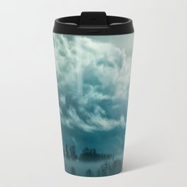 Cloudy Nature Travel Mug