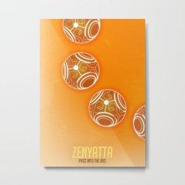Zenyatta orb Metal Print