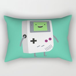 Who wants to play video games?  Rectangular Pillow