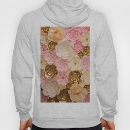 Paper Flowers x Gold Pink Cream Hoody