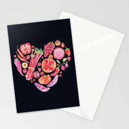 Fruit of Love - Dark Stationery Cards