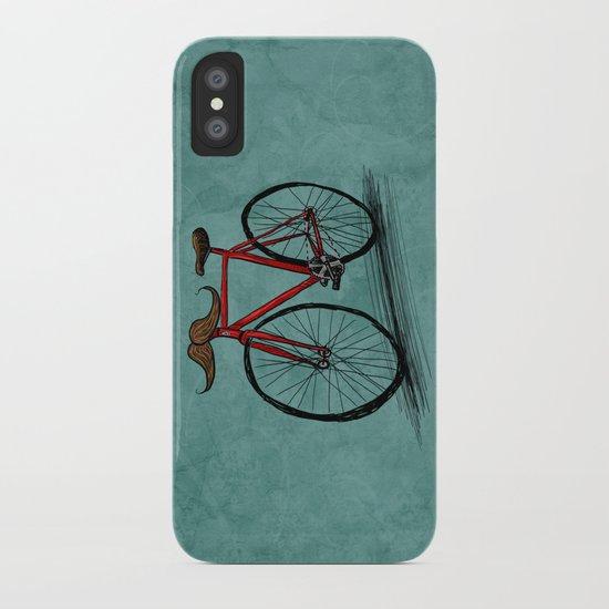 Baffi Bici iPhone Case