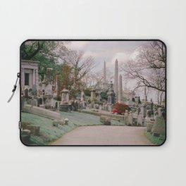Spring Cemetery Laptop Sleeve