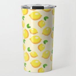Lemon limon seamless art colour lines triangle look rest eyes color new artist fun mixed pattern swe Travel Mug