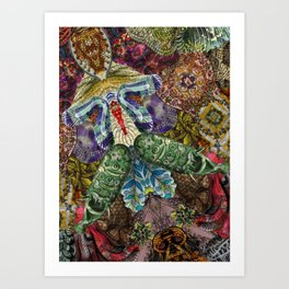 Psychedelic Botanical 5 Art Print