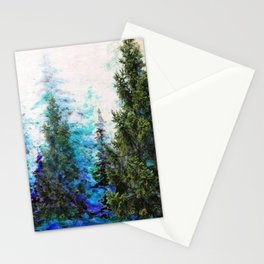 BLUE MOUNTAIN PINE FOREST  VISTA Stationery Cards
