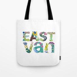 East Van colour Tote Bag