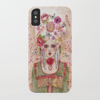 marie antoinette iPhone & iPod Cases featuring Marie-Antoinette by Minasmoke
