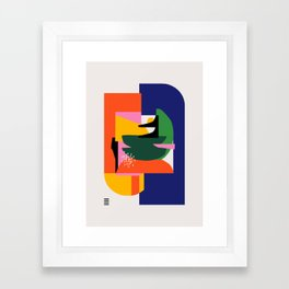 Mad sweet Framed Art Print