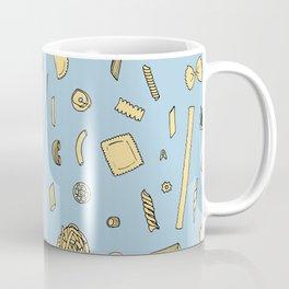Pasta pattern blue Coffee Mug