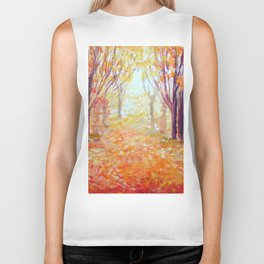 Where Has My Love Gone ~ Colors of Fall Biker Tank