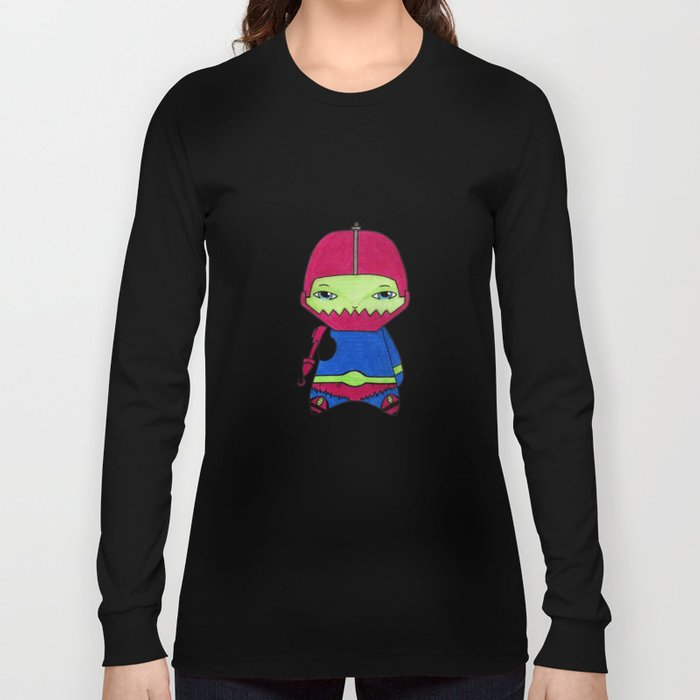 A Boy - Trap-Jaw Long Sleeve T-shirt