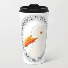Eat like a seagull  Travel Mug