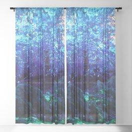 Fern Garden Sheer Curtain