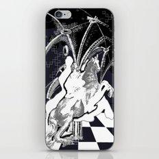 ghost rider shadow iPhone & iPod Skin