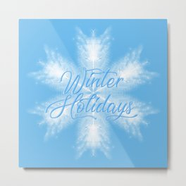 Winter Holiday #3 Metal Print