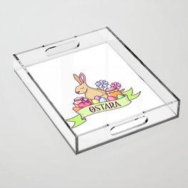 Ostara Acrylic Tray