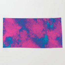 Cotton Candy Acid Trip Beach Towel