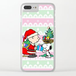charlie santa Clear iPhone Case
