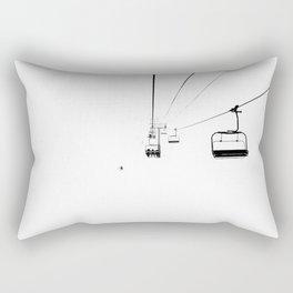 Ski Lift / Rectangular Pillow