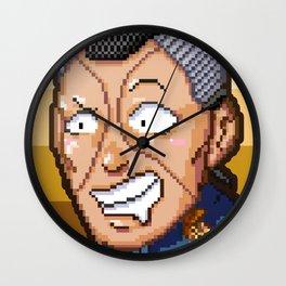 JJBA - Okuyasu Nijimura Pixel Art Wall Clock