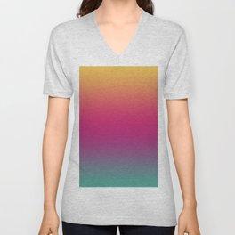 Rainbow Gradient IV Unisex V-Neck