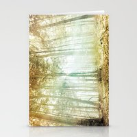 lotr Stationery Cards featuring Lothlórien by The Last Sparrow