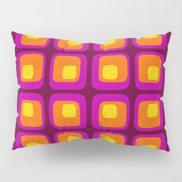 60s Bright Mod Pillow Sham