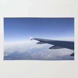Heavenly Blue Skies Flying Rug