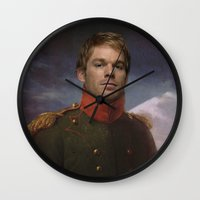 dexter Wall Clocks featuring DEXTER by Anthony Morell