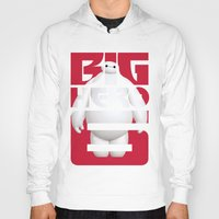 big hero 6 Hoodies featuring Baymax - Big Hero 6 by Nguyen