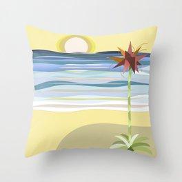 Sunset Gymea Throw Pillow