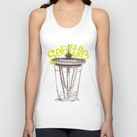 seattle Tank Tops featuring Seattle by Josie Lyn