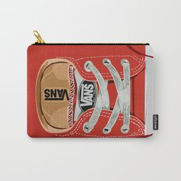 Cute red Vans all star baby shoes apple iPhone 4 4s 5 5s 5c, ipod, ipad, pillow case and tshirt Carry-All Pouch