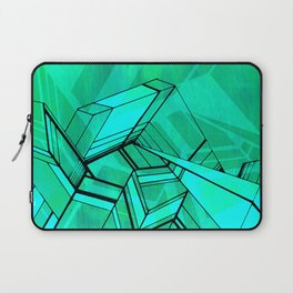Geo Tactic 2, Mint Laptop Sleeve