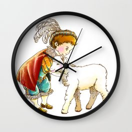 Prince Richard and his new Friend Wall Clock