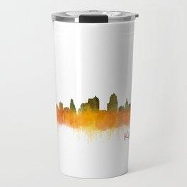 Kansas City Skyline Hq v2 Travel Mug
