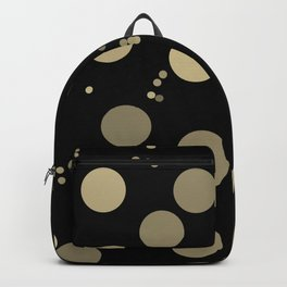 Retro Minimalism Night Rain In Moon Light Backpack