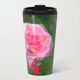 Pink Roses in Anzures 1 Art Triangles 1 Travel Mug