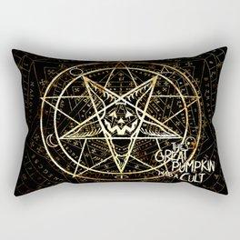 Cult of the Great Pumpkin: Pentagram Rectangular Pillow
