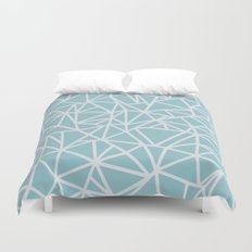 Ab Outline Salt Water Duvet Cover